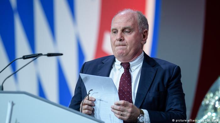 Uli Hoeness (picture-alliance/dpa/M. Balk)