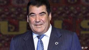 Der turkmenische Präsident Saparmurad Niyazov