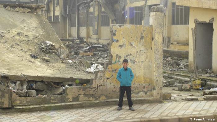 Syrien zerstörte Schulen in Raqqa