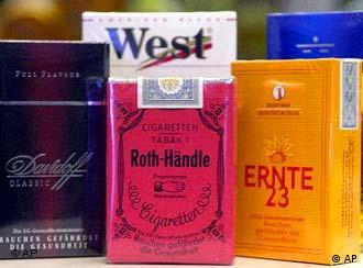 Despite health warnings on cigarettes, Germans are unlikely to kick the habit.