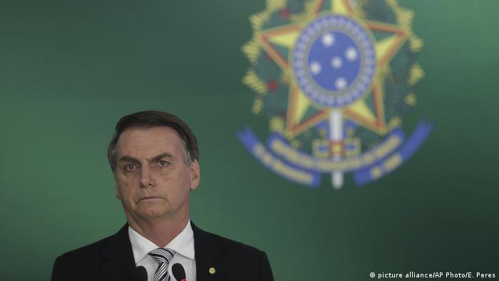 Brasilien - Präsident Jair Bolsonaro