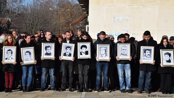Портрети на жертви от т.нар. възродителен процес (Момчилград, 2018)