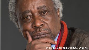 A pensive-looking Mnyaka Sururu Mboro