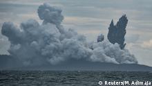 Indonesien Vulkan Anak Krakatau
