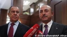 Moskau Gespräche Außenminister Russland Türkei über Syrien