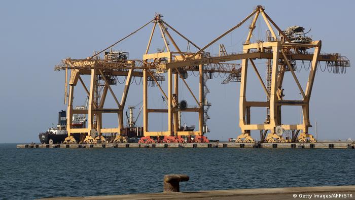 Hafen von Hudeida (21.12.2018)