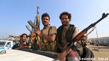 Jemen Huthi-Rebellen übergeben wichtigen Hafen von Hudaida an Küstenwache