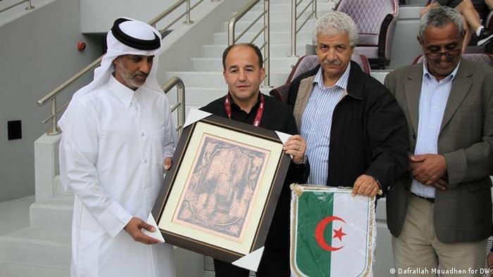 Fussball Asian Cup l Nationalmannschaft Qatar - Sheikh Hamad ben Kalifa al Thani (Dafrallah Mouadhen for DW)