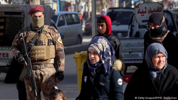 شهر منبیج تحت کنترل کردهای سوری
