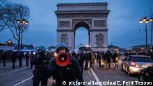 Frankreich Erneut Proteste der Gelbwesten