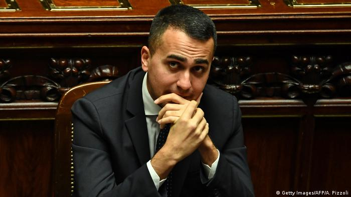 Italys Labor and Industry Minister and deputy PM Luigi Di Maio attends a session for a Parliament vote of confidence on Italy's revised 2019 budget (Getty Images/AFP/A. Pizzoli)