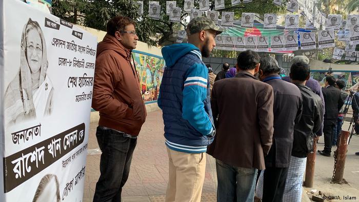 Bangladesch Dhaka Wahlen