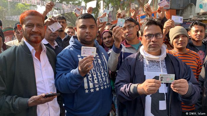 Bangladesch Dhaka Wahlen (DW/A. Islam)