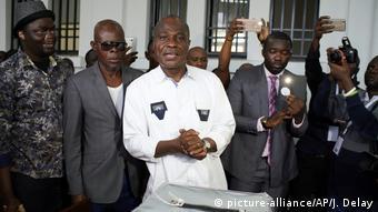 Wahlen im Kongo (picture-alliance/AP/J. Delay)