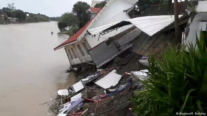 Philippinen Daet Überflutungen