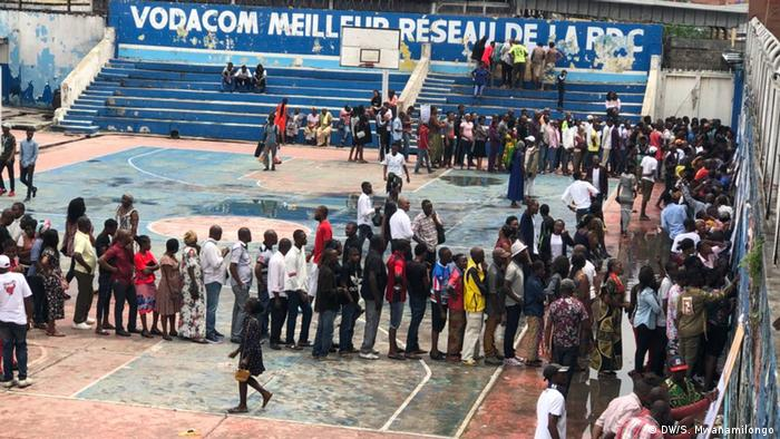 Demokratischen Republik Kongo DRK l Wahlen 2018 (DW/S. Mwanamilongo)