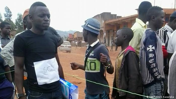 Wahlen im Kongo (DW/Patrick Kasereka )