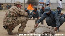 Afghanistan Ausbildung für Polizeikräfte in Kunduz