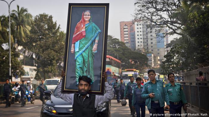 Bangladesh election (picture-alliance/dpa/AP Photo/A. Nath)