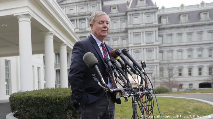 USA | Lindsey Graham (picture-alliance/dpa/AP Photo/P. M. Monsivais)