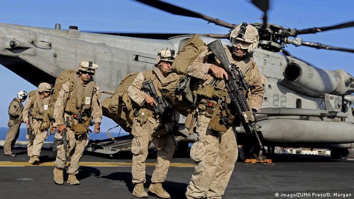 نیروهای آمریکایی در حال خروج از سوریه (دسامبر سال ۲۰۱۸)
