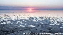 Iran Urmia-See schrumpft
