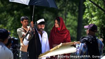 Pakistan Filmindustrie (Getty Images/AFP/A. Qureshi)