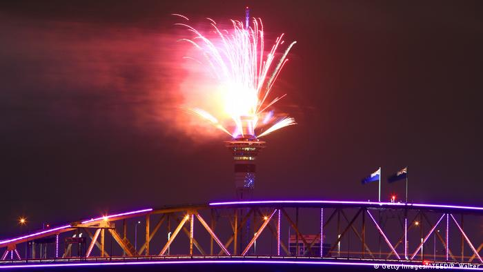 Neuseeland Auckland New Year's Eve