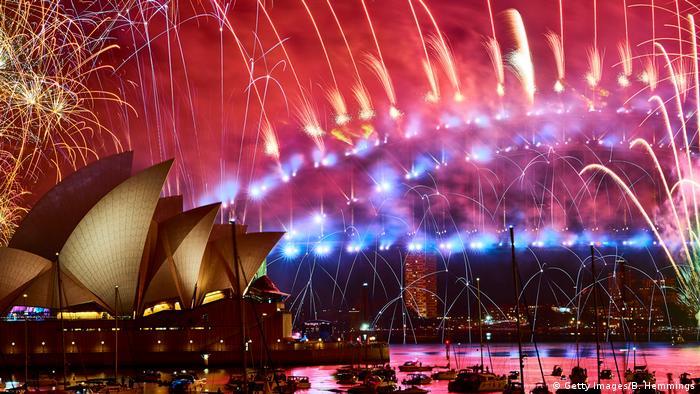 Neujahr 2019 | Sydney, Australien (Getty Images/B. Hemmings)