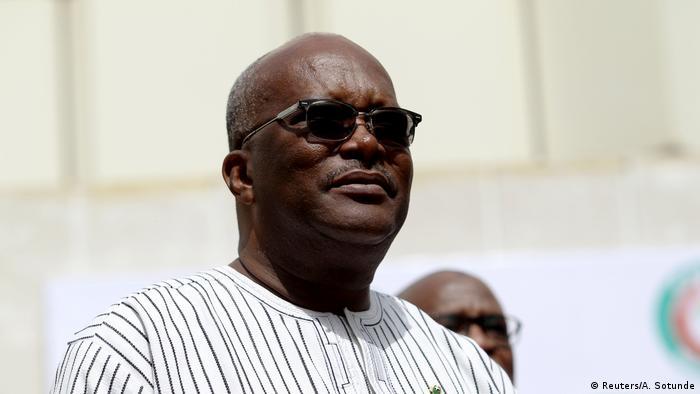 Le président du Burkina Faso Roch Marc Christian Kaboré est candidat à sa propre succession