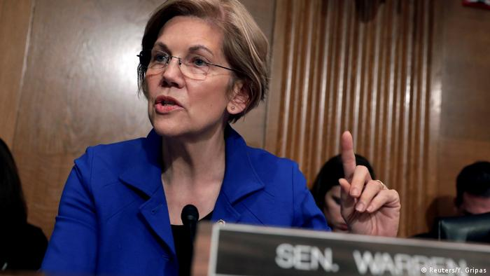 USA Washington Senatorin Elizabeth Warren (Reuters/Y. Gripas)