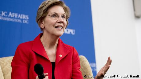 Elizabeth Warren - US Senatorin (picture-alliance/AP Photo/A. Harnik)