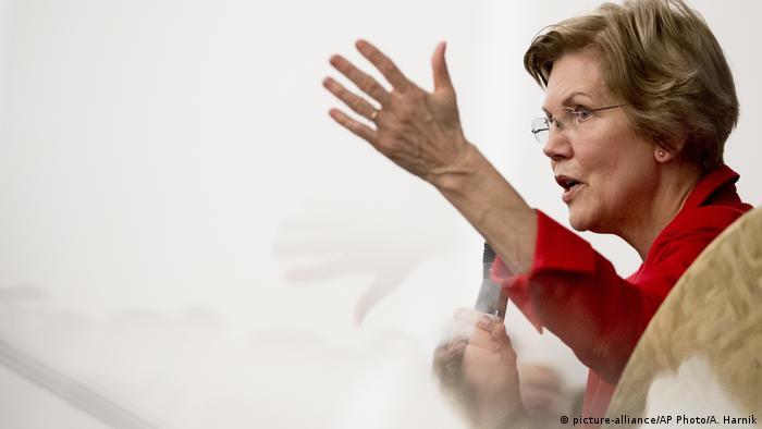 Elizabeth Warren - US Senatorin (picture-alliance/AP Photo/A. Harnik)