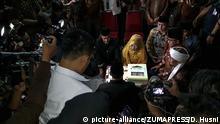 Indonesien Jakarta -Massenhochzeit vor dem Jahreswechsel