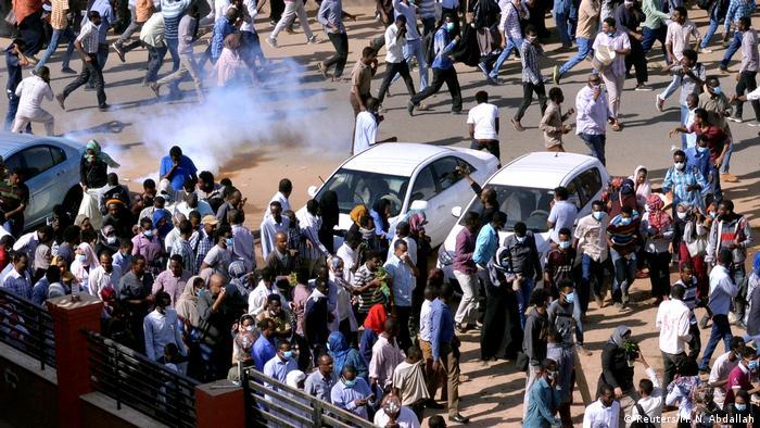 Sudan Demonstrations Protests (1965 / MN Abdallah)