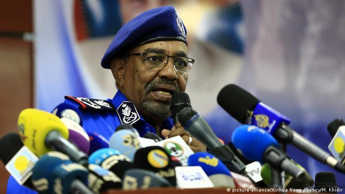 Sudan Khartoum - Sudans Präsident - Omar Bashir (picture-alliance/Xinhua News Agency/M. Khidir)