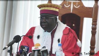 Das Verfassungsgericht von Togo gibt die Ergebnisse der Parlementswahlen bekannt (DW/N. Tadegnon)