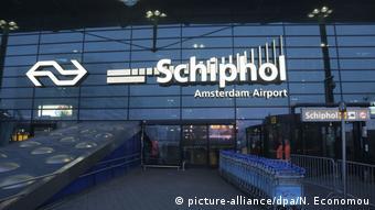 Amsterdam Niederlande Schiphol Flughafen