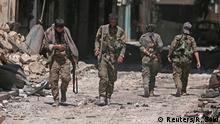 Syrien Manbidsch SDF Kämper