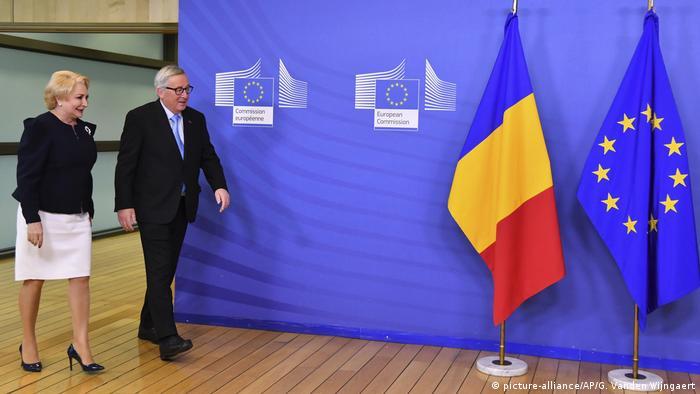 Viorica Dancila und Jean-Claude Juncker