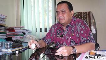 Indonesien Serang - Bezirkskrankenhaus Dradjat Prawiranegara: Vizedirektor Rahmat Fitriadi