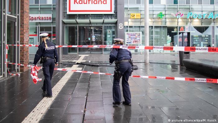 Поліція на місці події у Ботропі