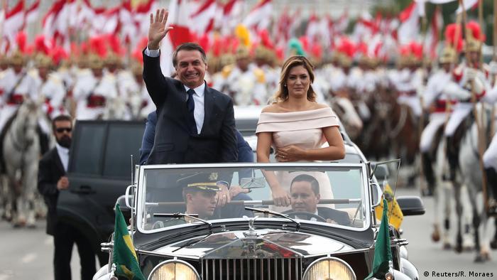 Brasilien Bolsonaro legt Amtseid ab (Reuters/R. Moraes)