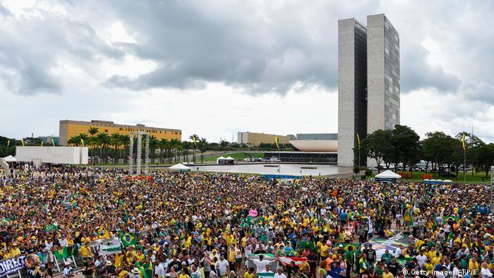 Brasilien Amtseinführung Jair Bolsonaro (Getty Images/AFP/E. Sa)