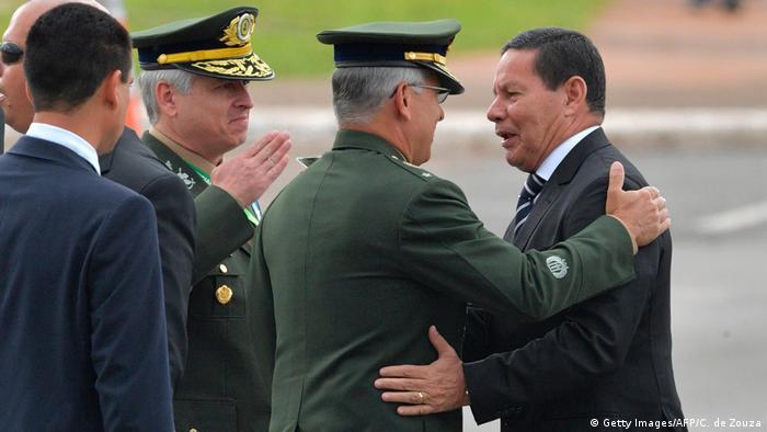 Brasilien Bolsonaro legt Amtseid ab | Vizepräsident Hamilton Mourao (Getty Images/AFP/C. de Zouza)