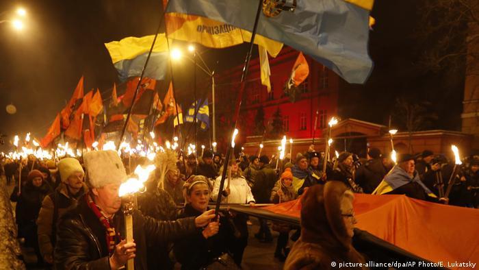 Акція націоналістів у Києві