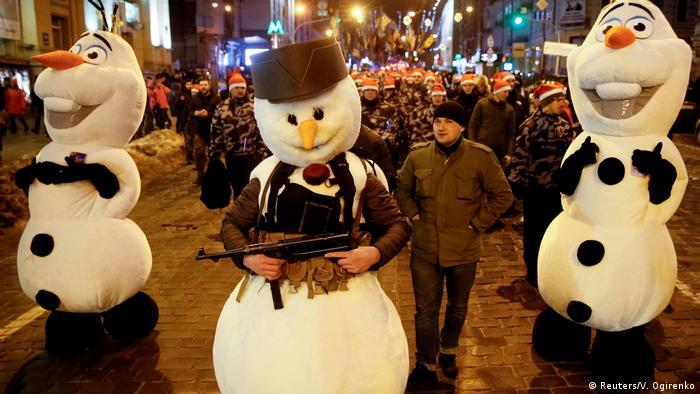 Марш націоналістів у Києві