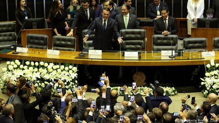 Brasilien | Amtseinführung Jair Bolsonaro (Agência Brasil/J. Cruz )
