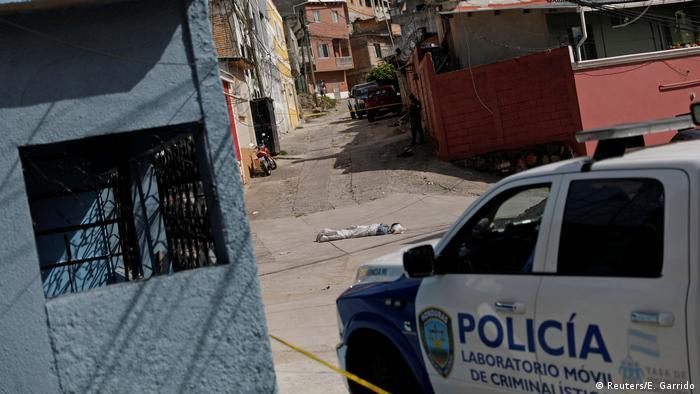 Honduras Gewalt und Bandenkriminalität