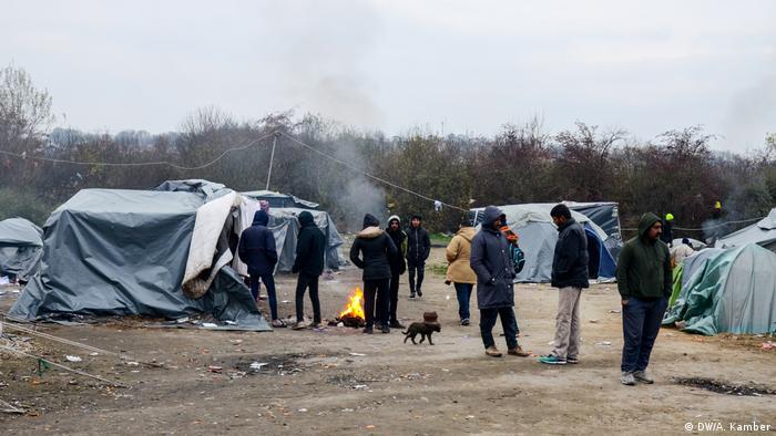 Migranti kod Bihaća (snimljeno u jesen 2018. godine)